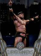 2018 Legends of WWE (Topps) Bobby Lashley 57