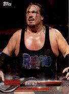 2018 WWE Wrestling Cards (Topps) Rhyno 77