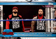 2019 WWE Road to WrestleMania Trading Cards (Topps) The Usos 59