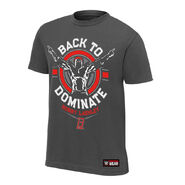 Bobby Lashley Back to Dominate Youth Authentic T-Shirt