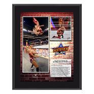 Charlotte Flair SummerSlam 2018 10 x 13 Commemorative Plaque