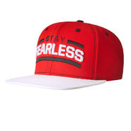 Nikki Bella Stay Fearless White Brim Snapback Hat