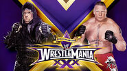 WM30 Taker v Lesnar