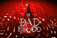 WWE Bad Blood Logo