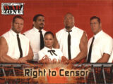 2001 WWF RAW Is War (Fleer) Right To Censor (No.62)