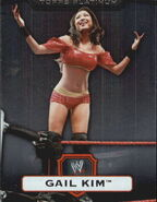 2010 WWE Platinum Trading Cards Gail Kim 9