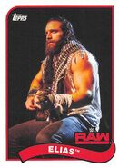 2018 WWE Heritage Wrestling Cards (Topps) Elias 26