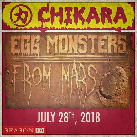 Post image of CHIKARA Egg Monsters From Mars