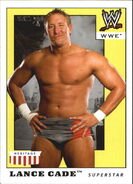 2008 WWE Heritage IV Trading Cards (Topps) Lance Cade 32