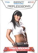 2012 TNA Impact Wrestling Reflexxions Trading Cards (Tristar) Traci Brooks 84