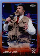 2015 Chrome WWE Wrestling Cards (Topps) Zeb Colter 78