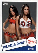 2015 WWE Heritage Wrestling Cards (Topps) The Bella Twins 55