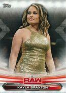 2019 WWE Raw Wrestling Cards (Topps) Kayla Braxton 41
