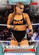 2019 WWE Women's Division (Topps) Ronda Rousey 84