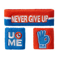 John Cena Hustle Loyalty Respect Sweatband Set