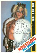 1985 Wrestling All Stars Trading Cards Adrian Street 51