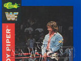 1991 WWF Classic Superstars Cards Rowdy Roddy Piper (No.31)