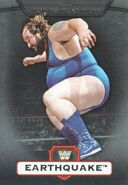 2010 WWE Platinum Trading Cards Earthquake 13