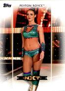 2017 WWE Women's Division (Topps) Peyton Royce 10