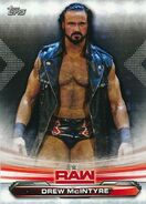 2019 WWE Raw Wrestling Cards (Topps) Drew McIntyre 27