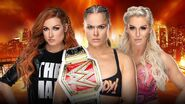 WM 35 Womens Triple Threat Match