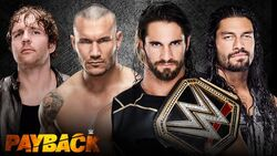 WWE Payback 2015 - WWE World Heavyweight Fatal 4-Way match