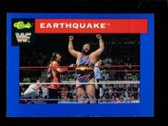 1991 WWF Classic Superstars Cards Earthquake 42