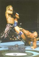 2003 WWE WrestleMania XIX (Fleer) Edge 19