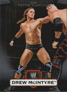2010 WWE Platinum Trading Cards Drew McIntyre 81