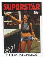 2016 WWE Heritage Wrestling Cards (Topps) Rosa Mendes 52