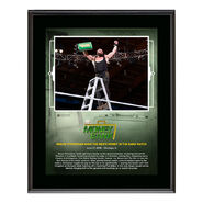 Braun Strowman Money in The Bank 2018 10 x 13 Plaque