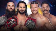 COC 2019 Rollins & Strowman vs. Ziggler & Roode