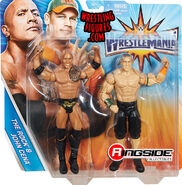 WWE Battle Packs WrestleMania 33 John Cena & The Rock
