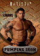 2004 WWE Chaos (Fleer) Batista 89