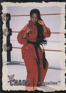 2004 WWE Chaos (Fleer) Jacqueline 20