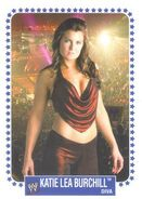 2008 WWE Heritage IV Trading Cards (Topps) Katie Lea Burchill 61