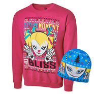 Alexa Bliss Ugly Holiday Sweatshirt & Beanie Package