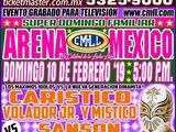 CMLL Domingos Arena Mexico (February 10, 2019)