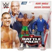 WWE Battle Packs 56 Kurt Angle & Jason Jordan