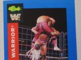 1991 WWF Classic Superstars Cards Ultimate Warrior (No.2)