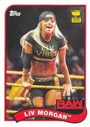 2018 WWE Heritage Wrestling Cards (Topps) Liv Morgan 44