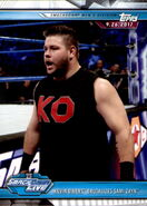 2019 WWE Road to WrestleMania Trading Cards (Topps) Kevin Owens 58