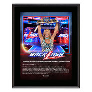 Carmella BackLash 2018 10 x 13 Photo Plaque