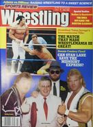 Sports Review Wrestling - July 1987