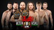 Takeover Cardiff Triple Threat Match