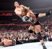 Triple H Spinebuster
