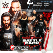 WWE Battle Packs 54 Braun Strowman & Roman Reigns