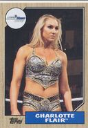 2017 WWE Heritage Wrestling Cards (Topps) Charlotte Flair 19