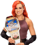 Becky lynch smackdown women s champion by nibble t-dahh2jr