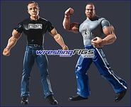 WWE Adrenaline Series 1 Rob Van Dam & Shawn Michaels